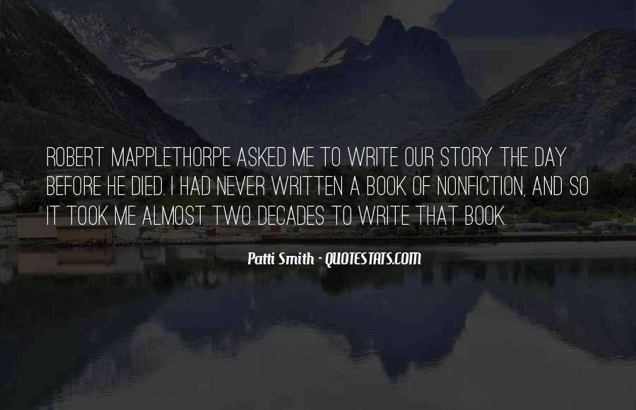 Write To Me Quotes #85736