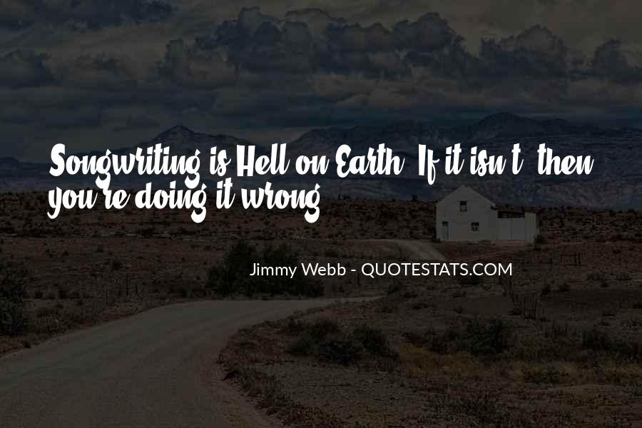 Writing Is Hell Quotes #1164218