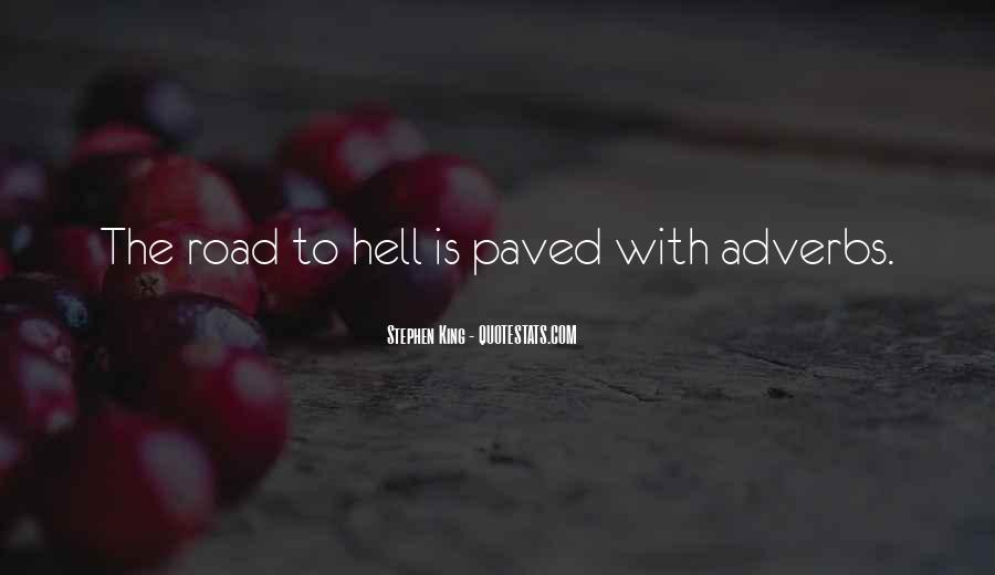 Writing Is Hell Quotes #1332984