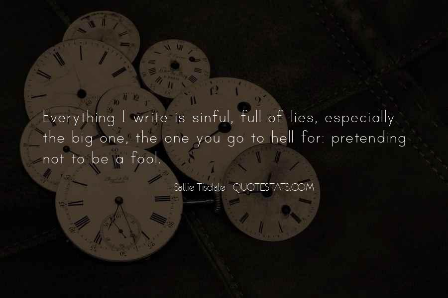 Writing Is Hell Quotes #1379536