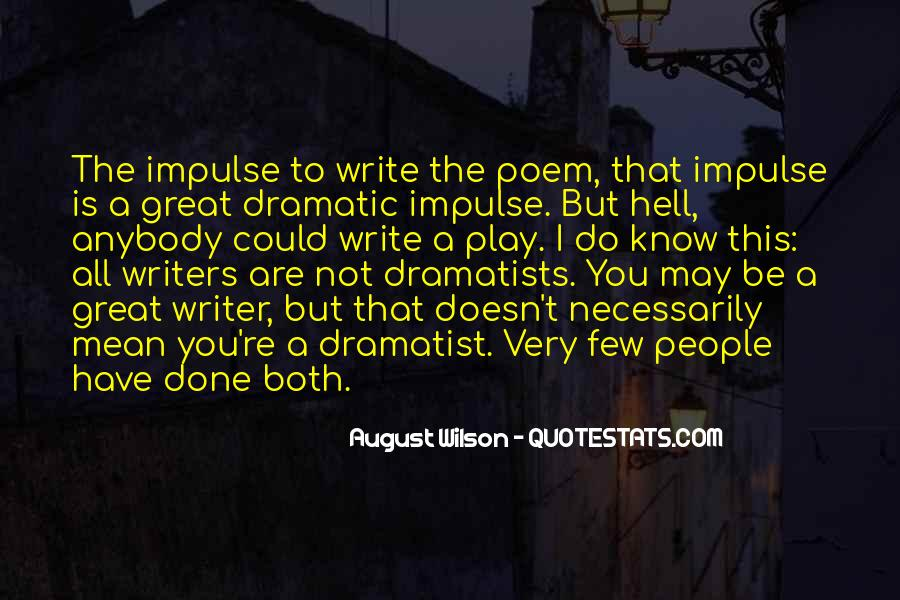 Writing Is Hell Quotes #1693799
