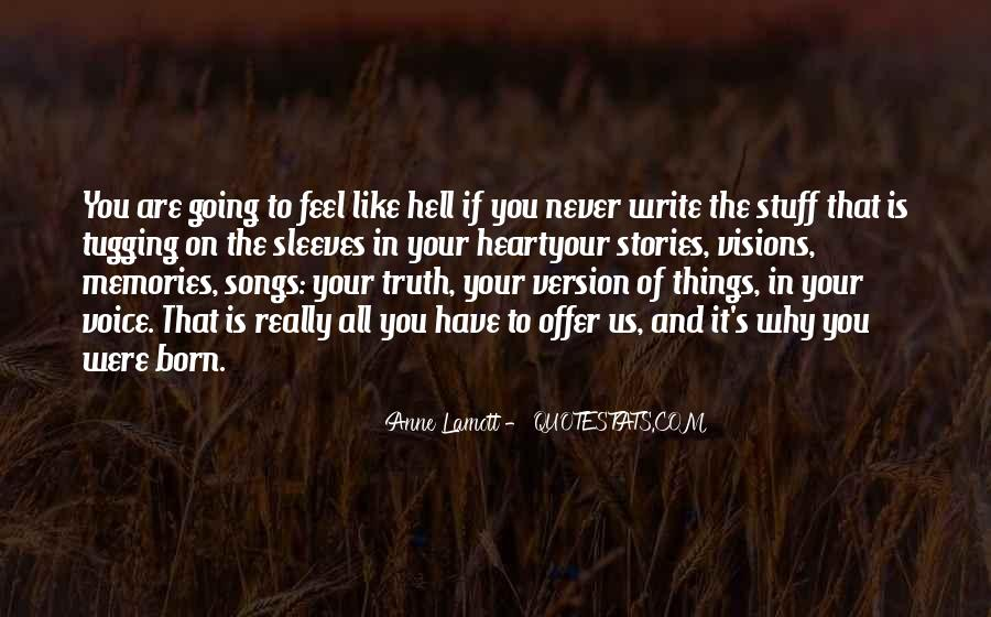 Writing Is Hell Quotes #660986