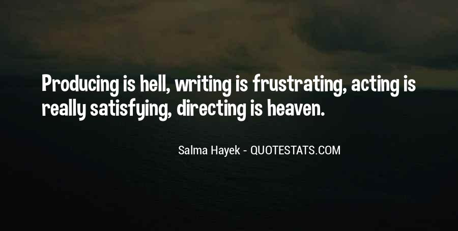 Writing Is Hell Quotes #716282