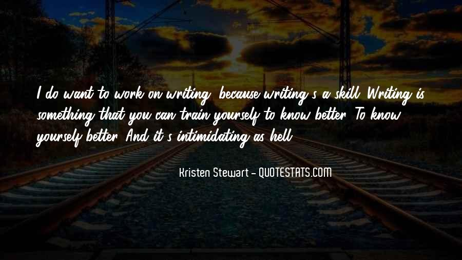 Writing Is Hell Quotes #734340