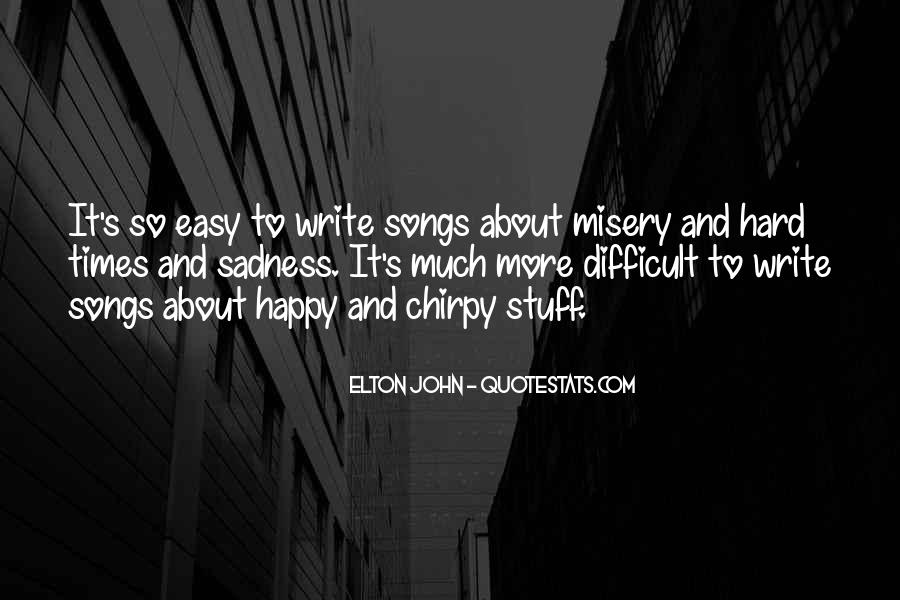 Writing Is Not Easy Quotes #106570