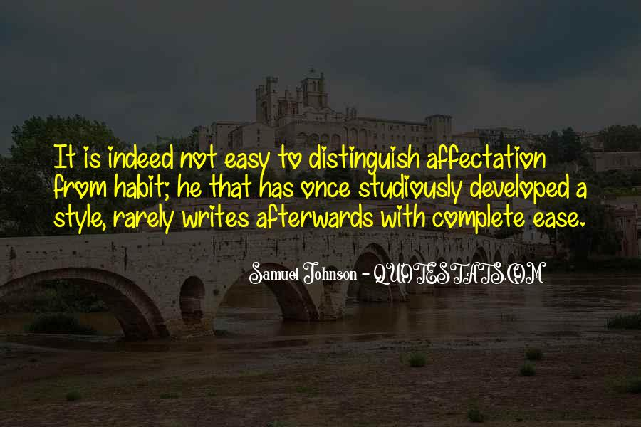 Writing Is Not Easy Quotes #1323631