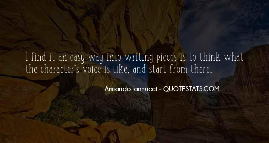 Writing Is Not Easy Quotes #218862