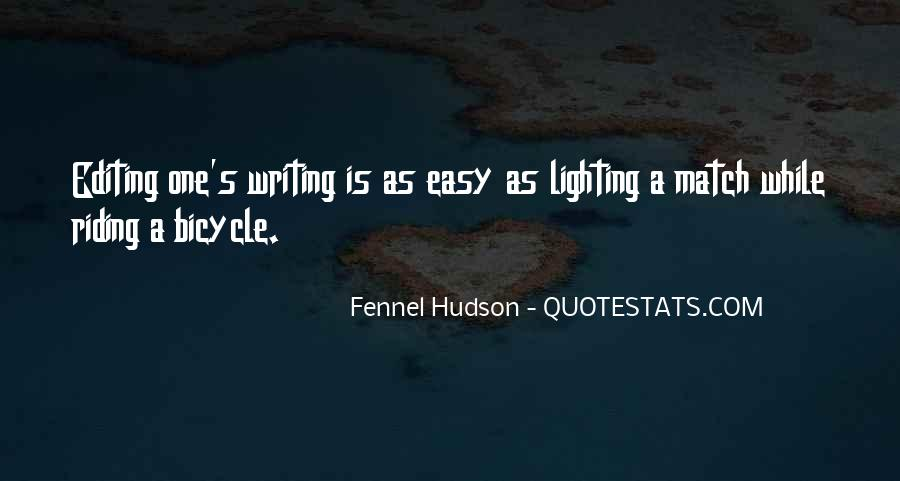 Writing Is Not Easy Quotes #337268