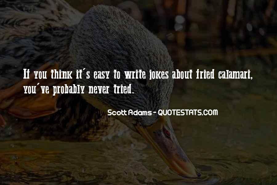 Writing Is Not Easy Quotes #370966