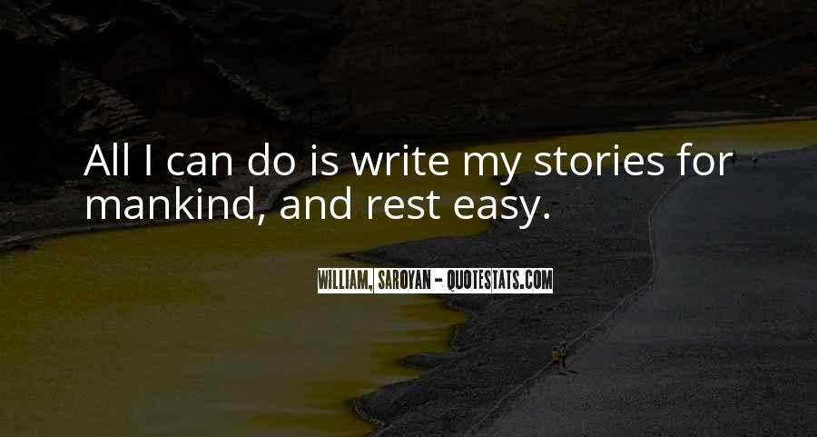 Writing Is Not Easy Quotes #428708