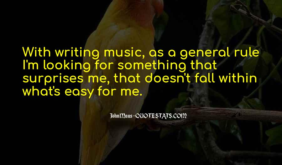 Writing Is Not Easy Quotes #438617