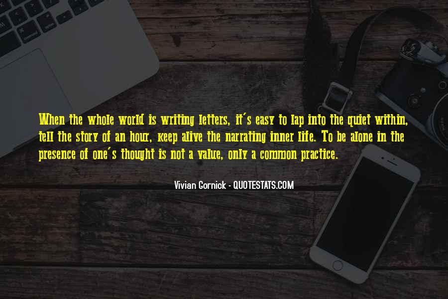 Writing Is Not Easy Quotes #857867