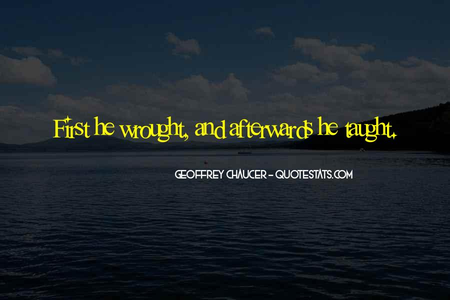 Wrought Quotes #511543