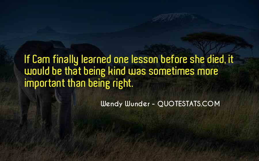Wunder Quotes #1239374