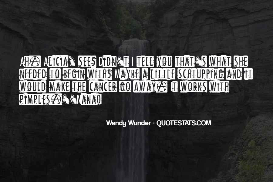 Wunder Quotes #1457115