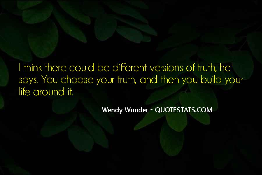 Wunder Quotes #1702290