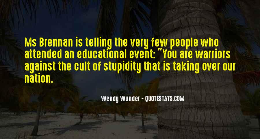 Wunder Quotes #482622