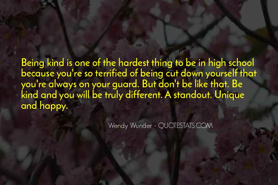 Wunder Quotes #501198