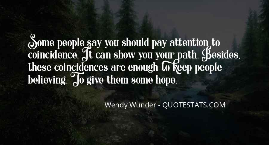 Wunder Quotes #776387