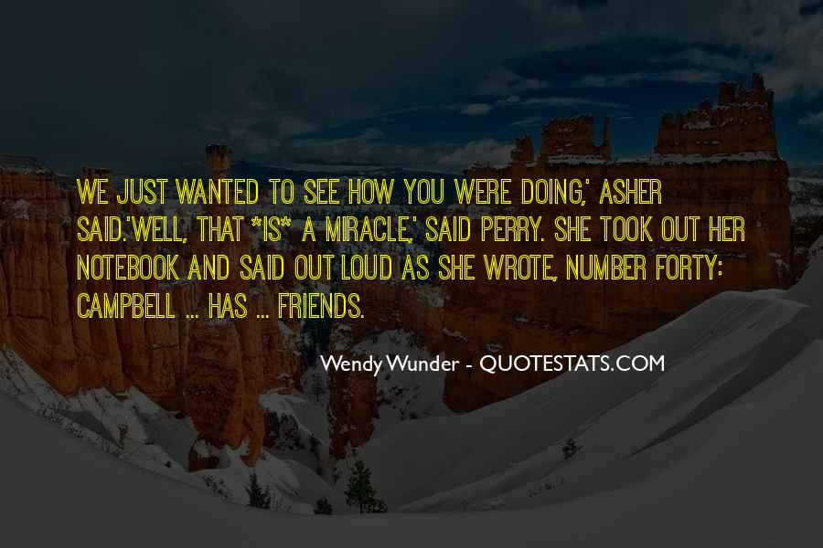 Wunder Quotes #824788