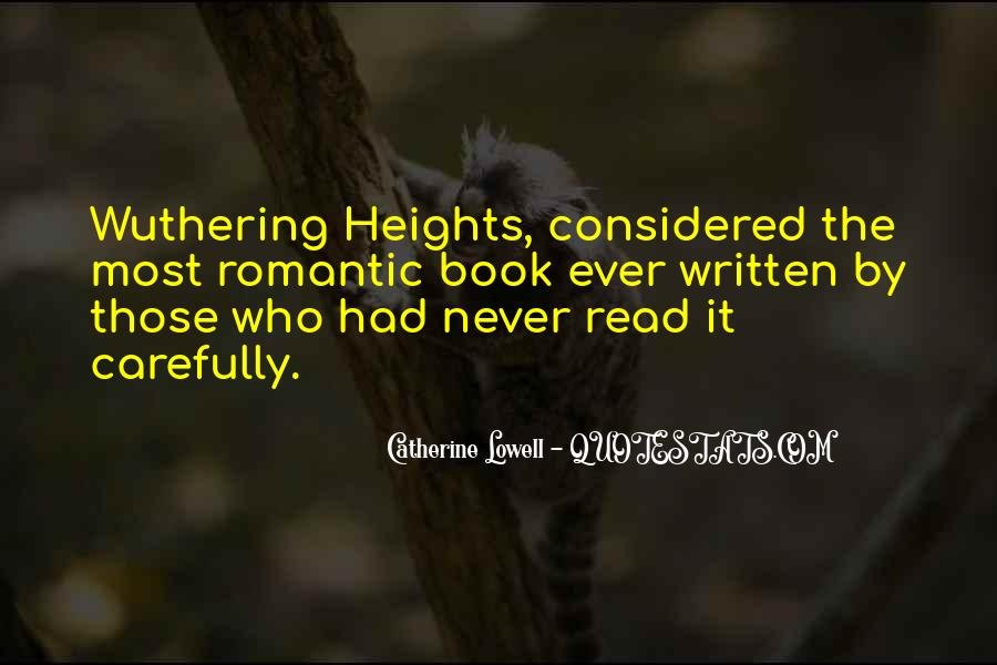 Wuthering Heights Catherine Quotes #1871921