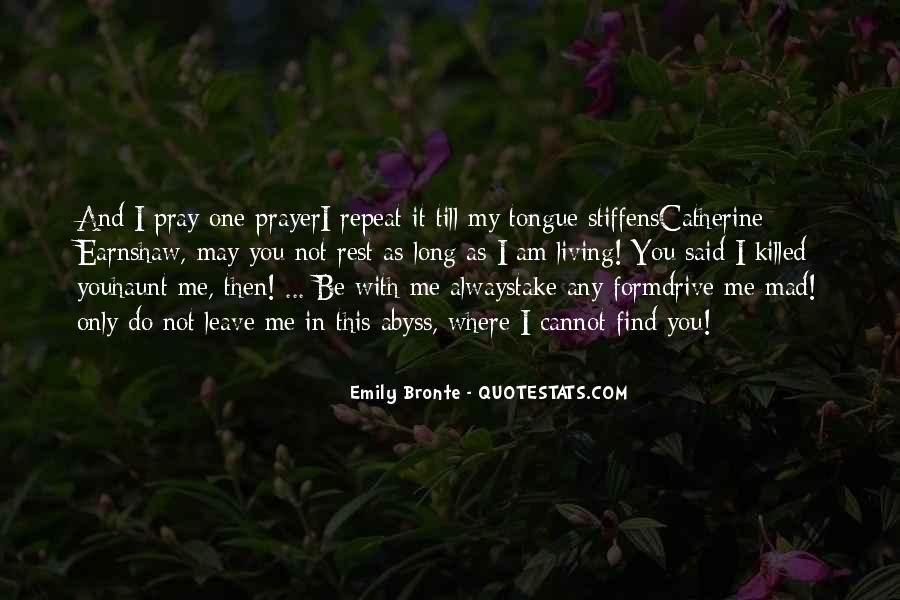 Wuthering Heights Catherine Quotes #996156