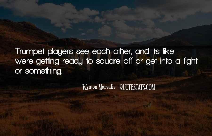 Wynton Marsalis Trumpet Quotes #1591957