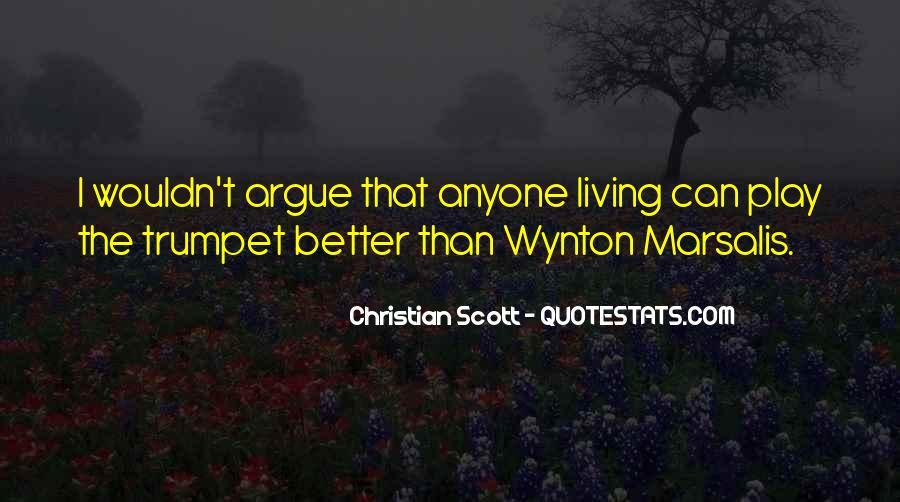 Wynton Marsalis Trumpet Quotes #1837854