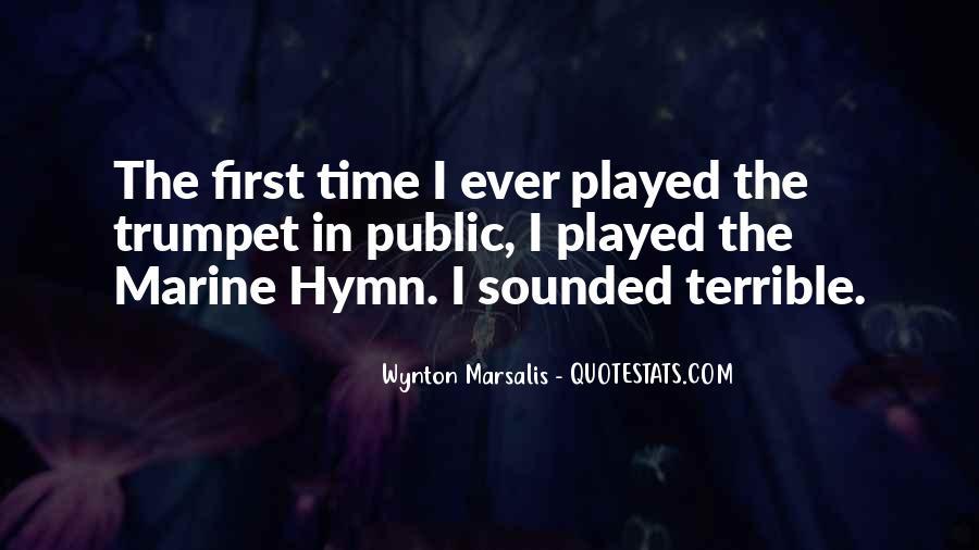 Wynton Marsalis Trumpet Quotes #196409
