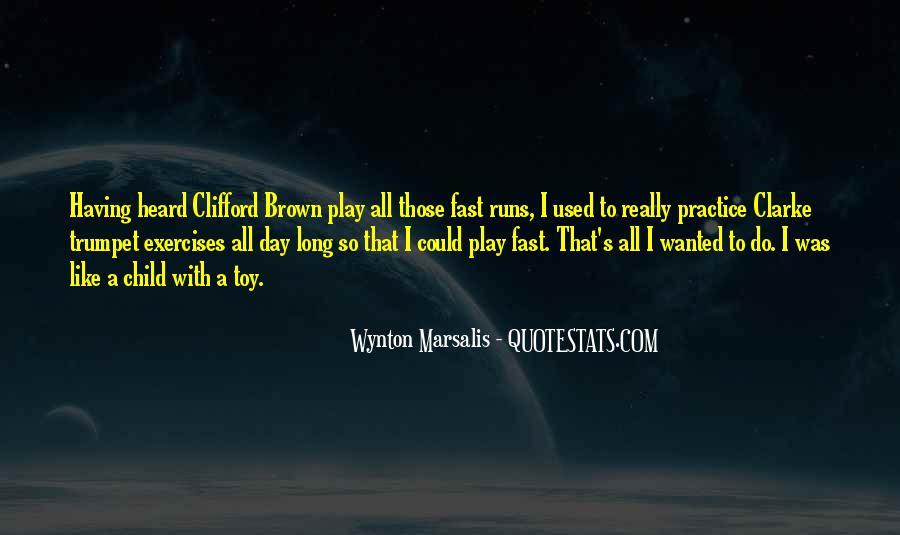 Wynton Marsalis Trumpet Quotes #271620