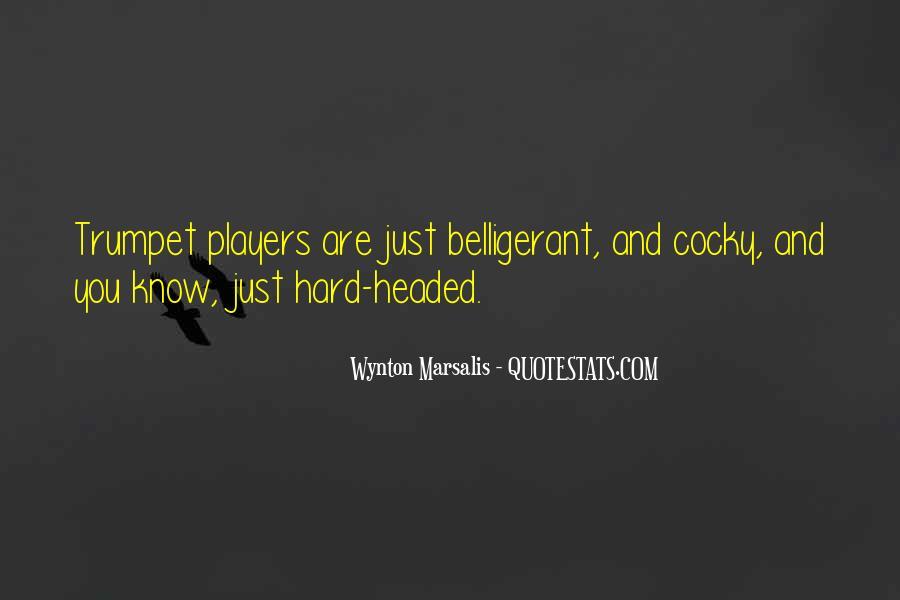 Wynton Marsalis Trumpet Quotes #775372