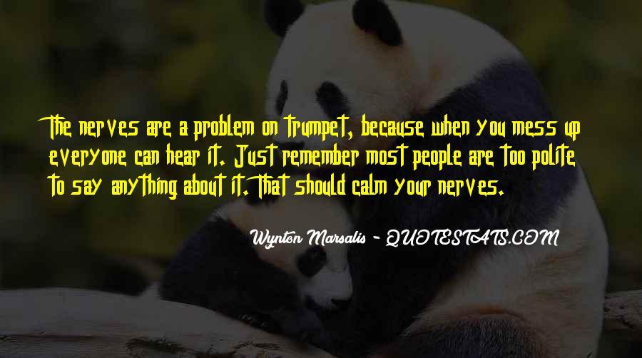 Wynton Marsalis Trumpet Quotes #915094