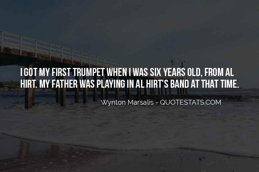 Wynton Marsalis Trumpet Quotes #98759