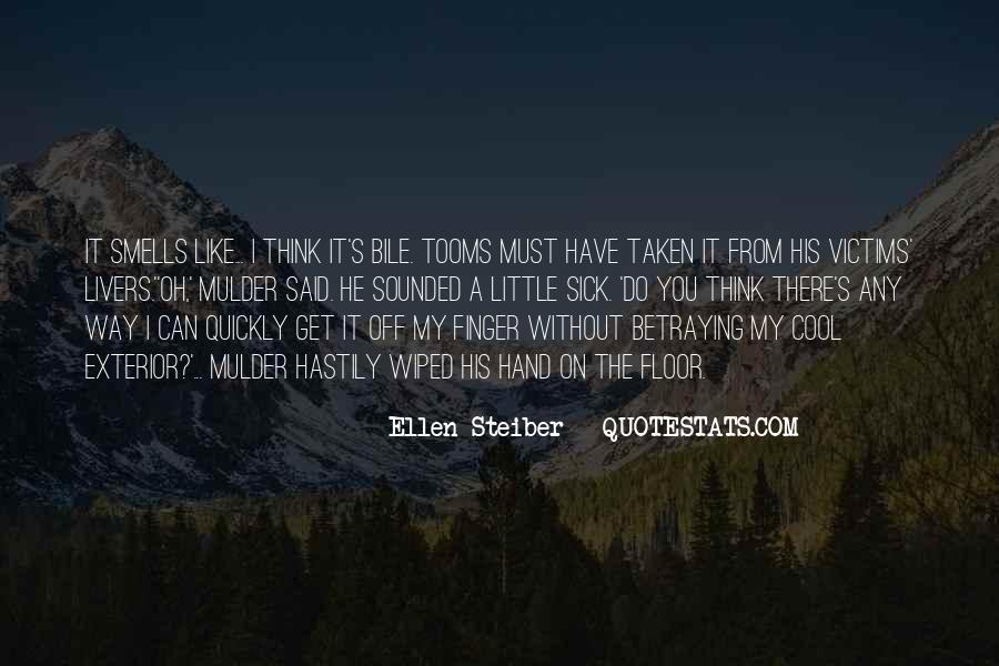 X Files Tooms Quotes #1409386