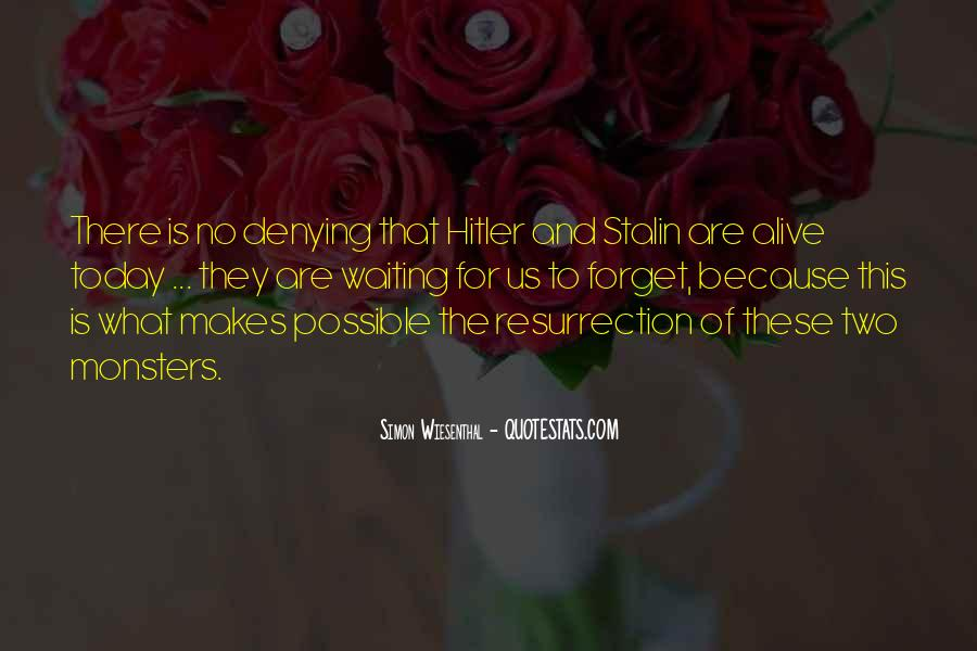 Quotes About Stalin And Hitler #1492858