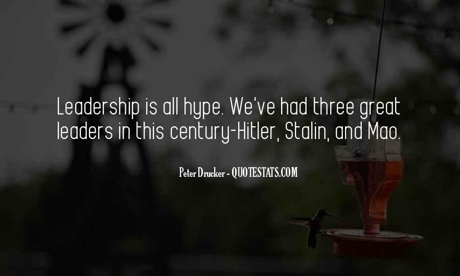 Quotes About Stalin And Hitler #1691437