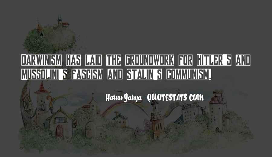 Quotes About Stalin And Hitler #1870095