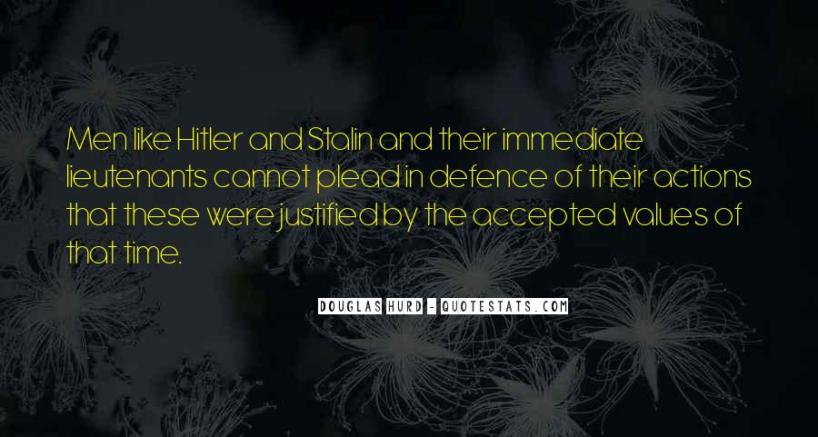 Quotes About Stalin And Hitler #227324