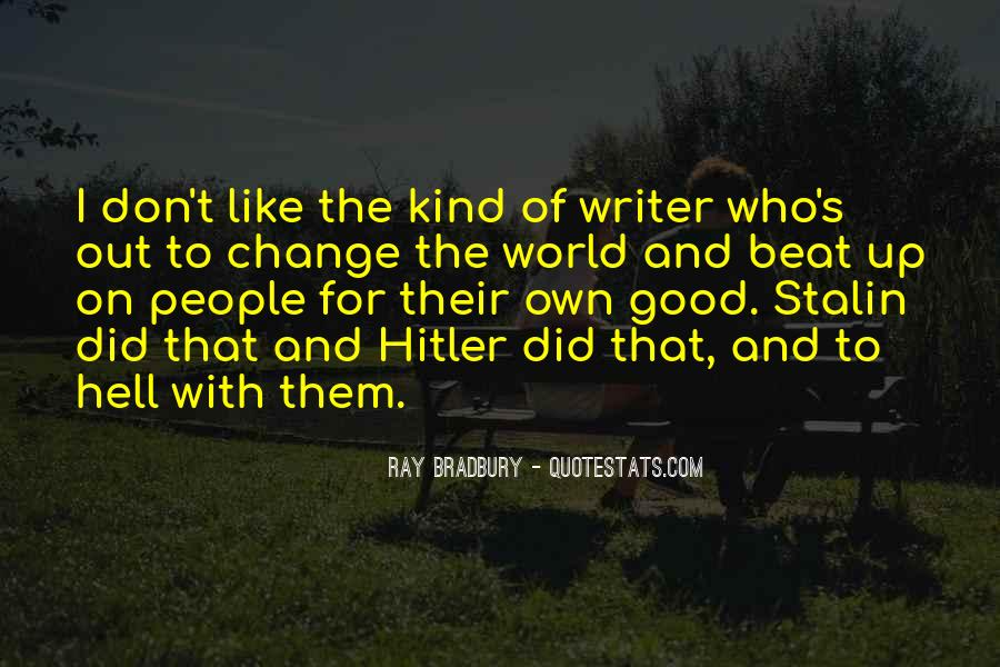 Quotes About Stalin And Hitler #688758