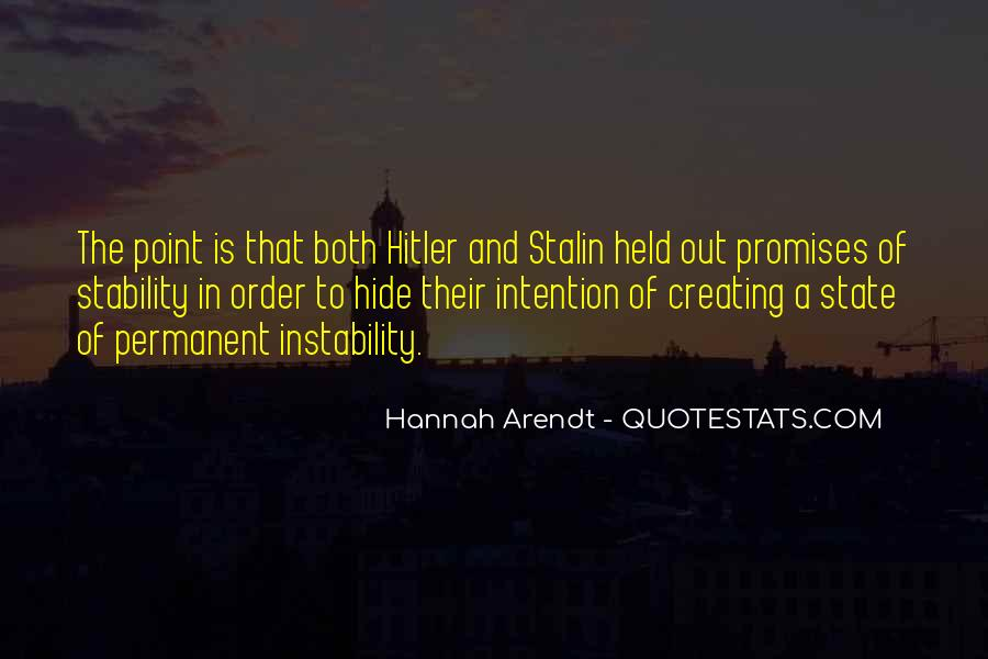 Quotes About Stalin And Hitler #80530