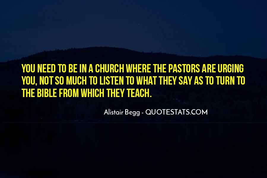 Quotes About Pastors From Bible #469120