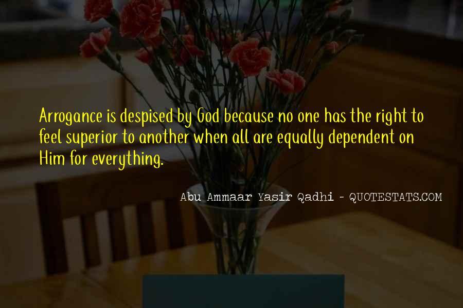 Yasir Qadhi Quotes #1567114