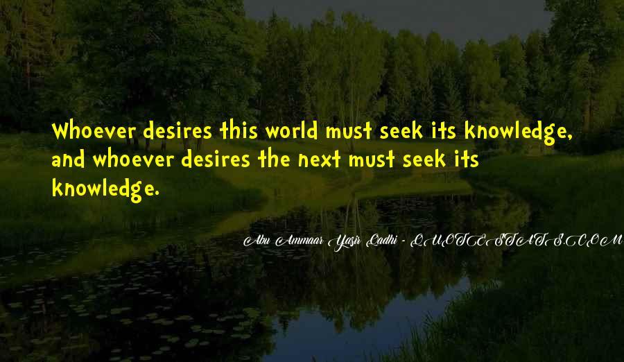 Yasir Qadhi Quotes #303158