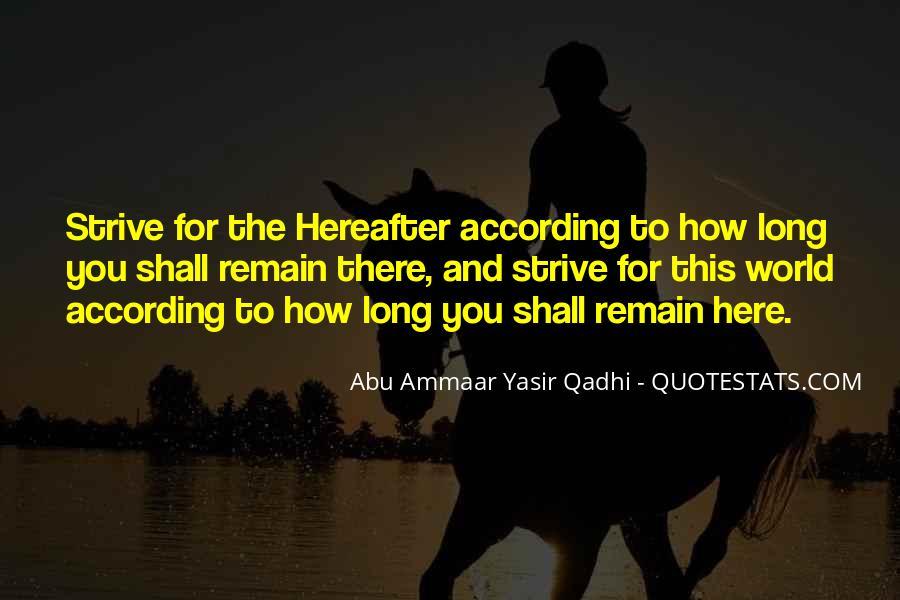 Yasir Qadhi Quotes #718522
