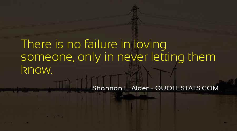 Quotes About Never Letting Go Of The One You Love #235137