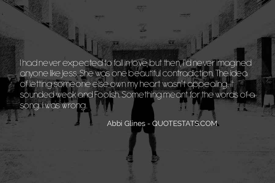 Quotes About Never Letting Go Of The One You Love #627672