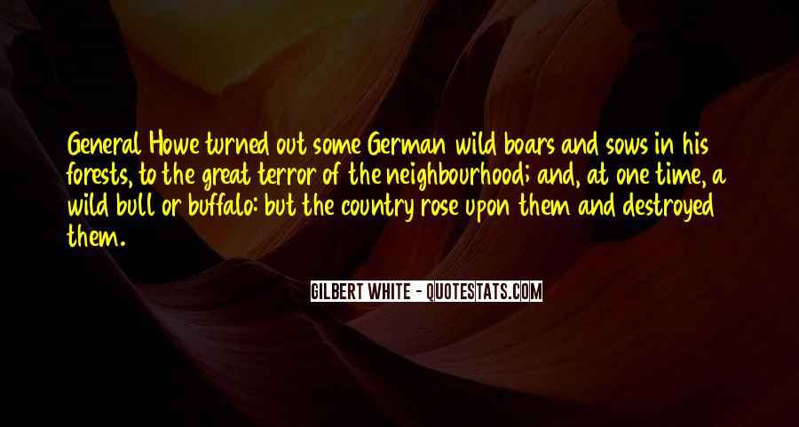 Quotes About Wild Boars #328533