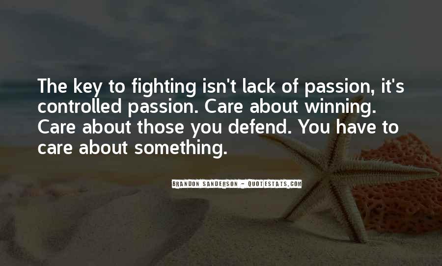 Quotes About Fighting For Someone You Care About #1803778