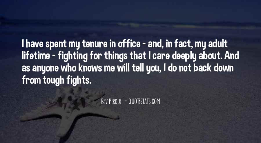 Quotes About Fighting For Someone You Care About #777170