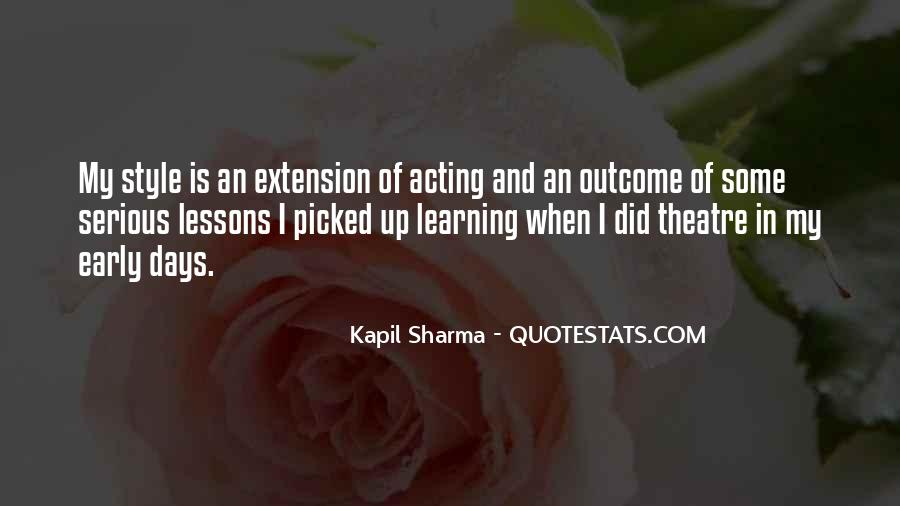 Quotes About Extension #155219